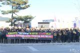 안양대학교 비상대책위원회, 세종정부청사 교육부 앞 시위