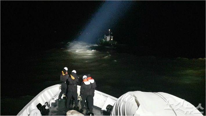 충남 태안 해상서 표류 중이던 급유선 구조..선원 3명 안전