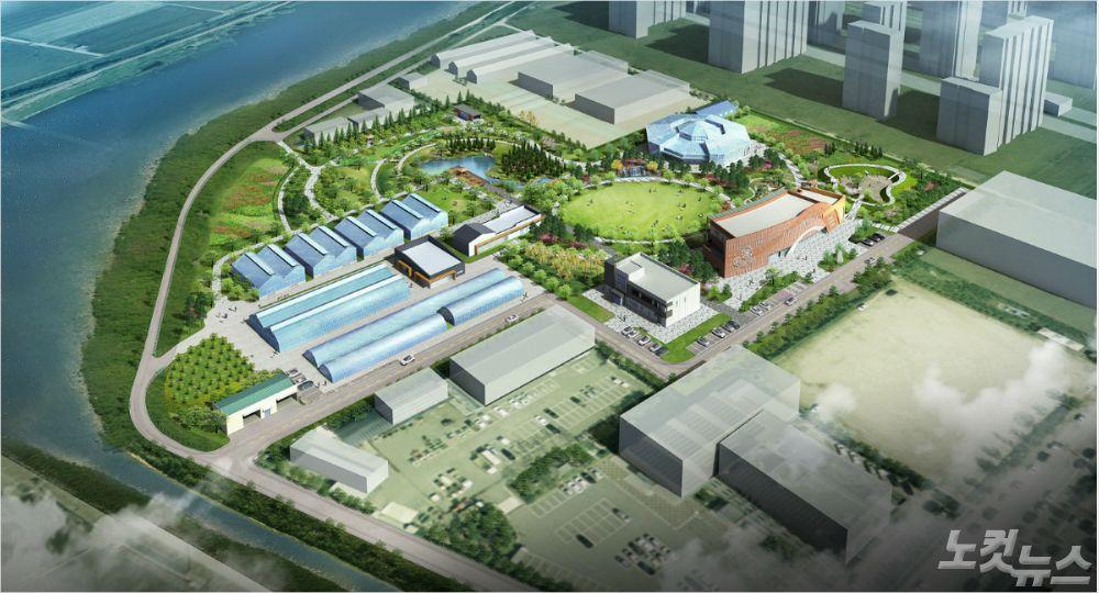 청주 지북동 '첨단도시농업 모델' 변신 박차