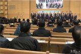 기독교한국침례회 전국남선교연합회,  2019 신년감사찬양예배