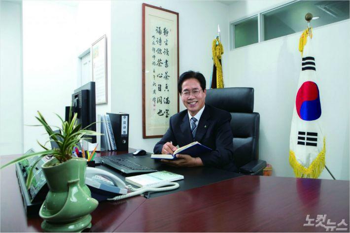 정홍섭 총장.(사진=동명대학교 제공)