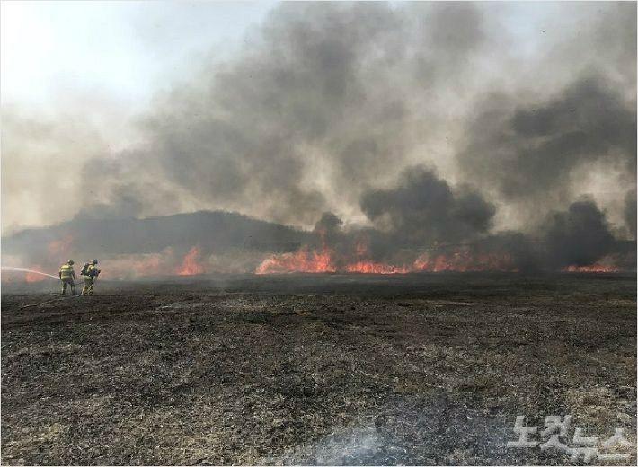 잇따르는 군부대 훈련 화재..지자체·산림당국 '긴장'
