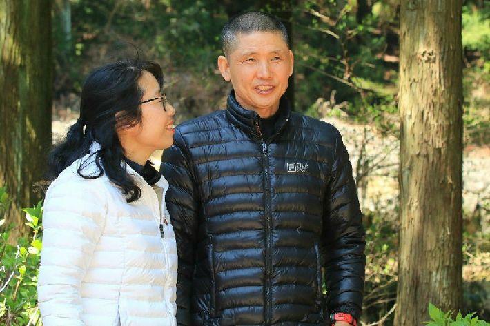 김동수씨와 아내 김형숙씨.
