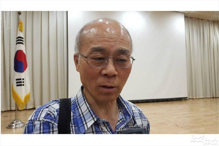 여수산단 범시민대책위 정한수 상임대표(사진=고영호 기자)