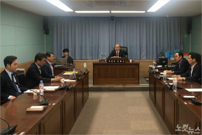 여수산단 특위 4차 운영회의(사진=여수시의회)