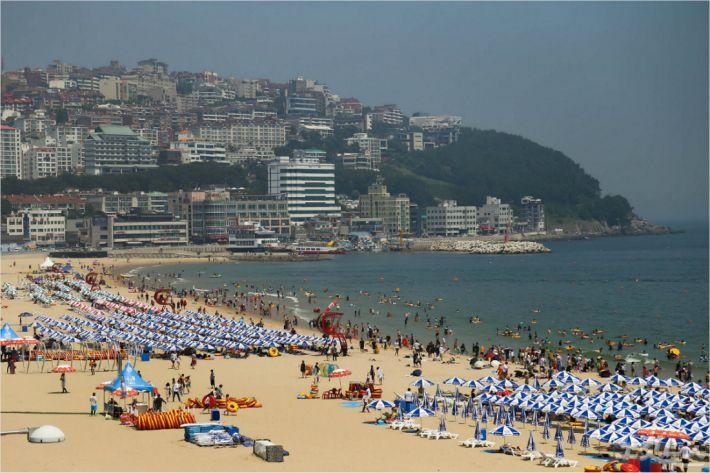부산 해운대해수욕장. (사진=부산CBS 자료창고)
