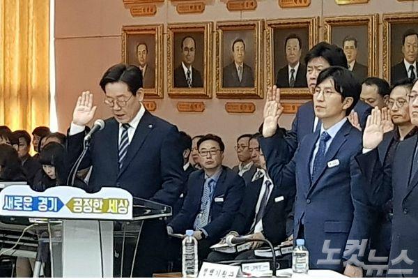 """이재명 탄원서, '공무원 참여' 질타… """"직권남용 VS 오해다"""""""