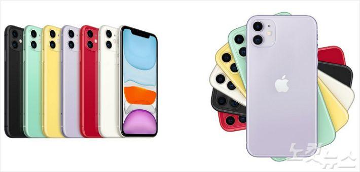 롯데백화점 광복점은 신형 아이폰을 전국 처음으로 구매할 수 있는 ' 아이폰11 출시 미드나잇 얼리버드' 행사를  오는 25일 자정부터 진행한다. 사진은 아이폰11 이미지 (사진 = 롯데쇼핑 제공)