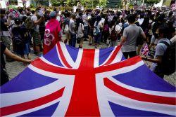 홍콩 사태에 '영국 거주권' 요구하는 청원 10만명 넘어