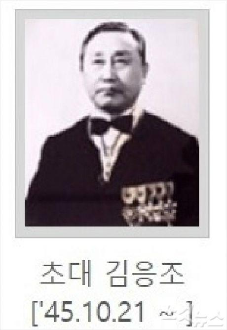 초대 전북지역 경찰국장 김응조. (사진= 전북지방경찰청 홈페이지)