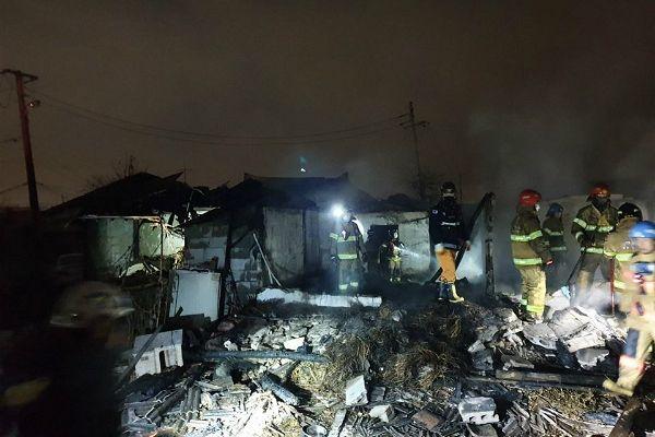경기도 부천 단독주택 화재로 90·40대 남녀 숨져