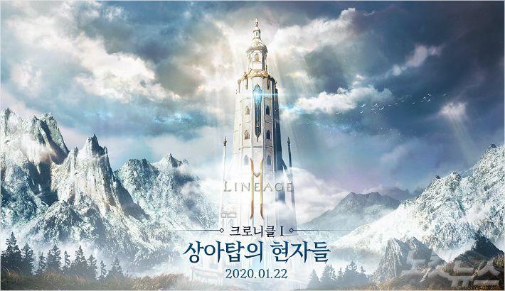 리니지2M 롱런 예고…첫 대규모 업데이트 '상아탑의 현자들'