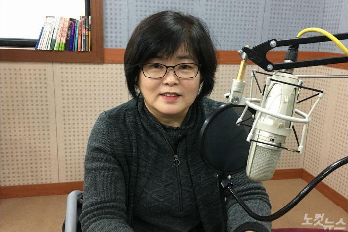 생터성경사역원 강원영동지부장 백은경 사모(사진=강원영동CBS)