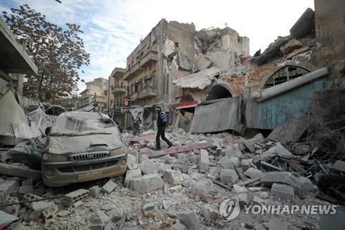 시리아 북서부 무력충돌로 39명 사망…휴전 물 건너 간 듯