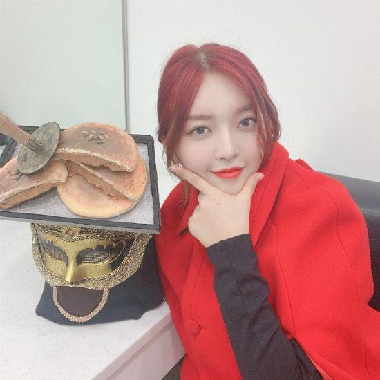 """'복면가왕' 출연 AOA 찬미 """"의미있는 무대였다"""""""