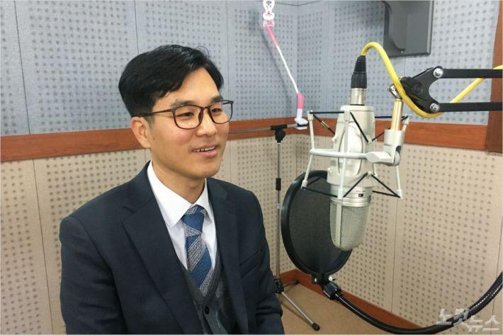 속초농아인교회 최만석목사(사진=강원영동CBS)