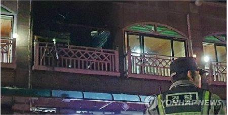 설 명절인 25일 강원 동해시의 한 펜션에서 가스 폭발 사고가 발생해 4명이 숨지고 5명이 중경상을 입었다. (사진=연합뉴스)