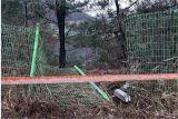 울산 대암댐 방류지점에 운전자 탄 승용차 추락