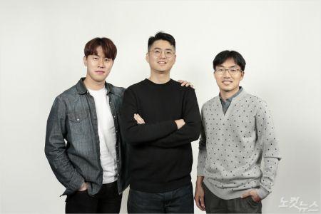 사진 왼쪽부터 민혜기 연구원, 김윤태 연구원, 이창영 교수.(사진 = UNIST 제공)