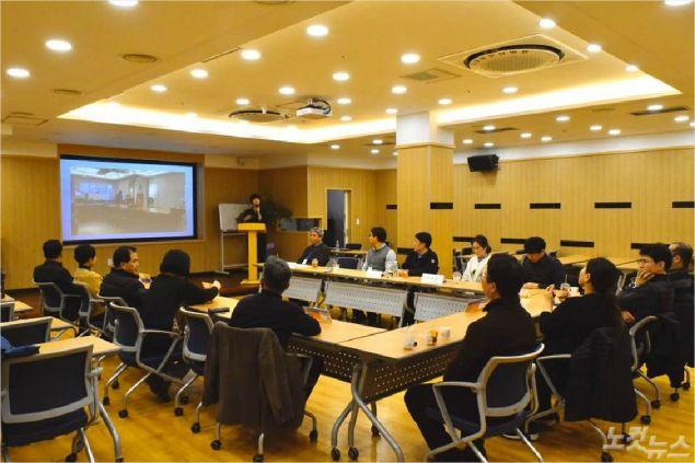 참석자들은 각 기관과 활동 내용을 소개한 뒤, 의료봉사 등 협력 방법과 기관 별 협업에 대해 논의하는 시간을 가졌다. (사진=포항CBS)