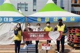 대구대 총학생회, 코로나19 지원 물품 기부