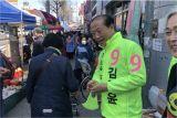 경주 무소속 김일윤 후보 '자진 사퇴'