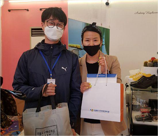 포항 오천지역 소상공인, 지역사회 소외계층에 후원품 기부