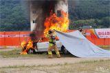 물 없어도 불 끈다…덮기만 하면 차량 화재 진압 '끝'