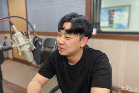 공감스튜디오의 PD 김현래 청년(사진=강원영동CBS)