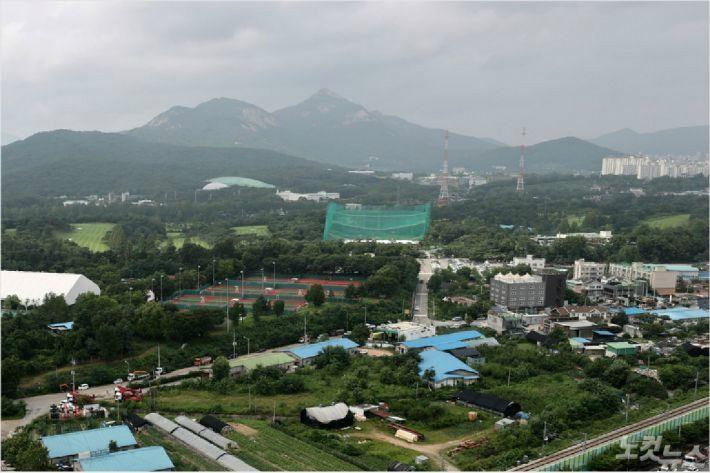 서울 노원구 육군사관학교 인근 지역 모습.(사진=연합뉴스)