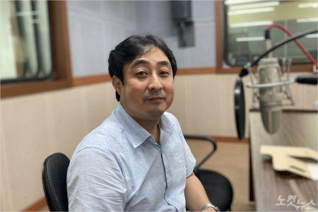 """김기홍 대표는 """"저희의 목표는 지역이 더 잘 사는 마을로 바뀌어가는 것""""이라며 """"그런 환경을 계속 만들어가야되지 않을까 싶다""""고 말했다.(사진=강원영동CBS)"""