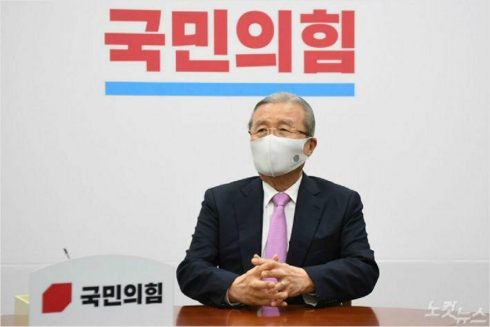 김종인 국민의힘 비상대책위원장 (사진=윤창원 기자)