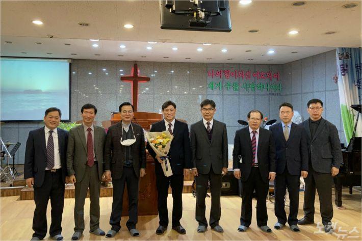 2021년 동해시기독교연합회 신임원(사진=강원영동CBS)