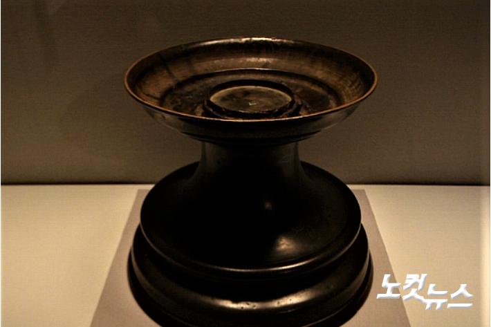 일본 도쿄국립박물관이 소장하고 있는 김제 금산사 향완. 김제시 제공