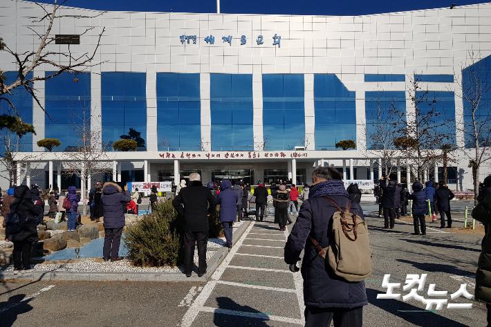 부산 강서구 세계로교회. 박진홍 기자