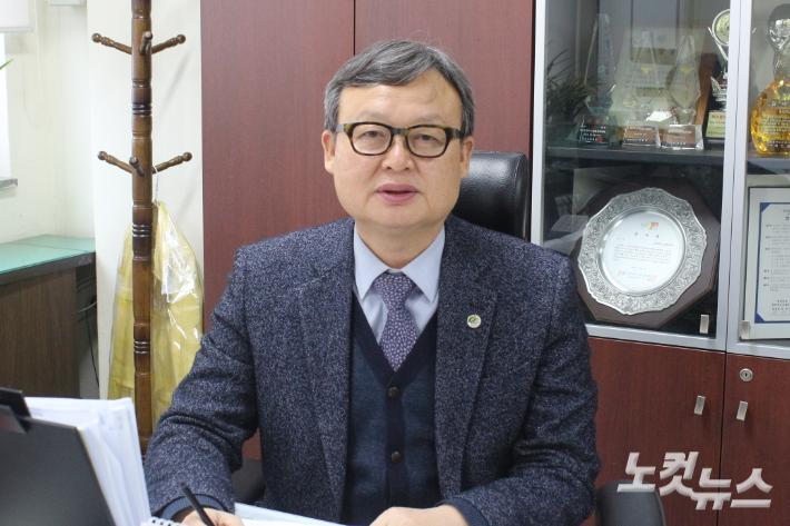 장거래 충북소방본부장. 최범규 기자