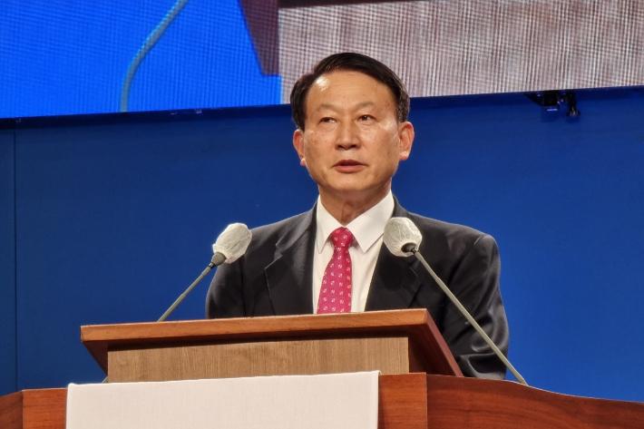 제주시기독교연합회장 이도교회 김성욱 목사