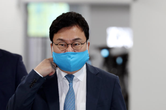 더불어민주당을 탈당한 무소속 이상직 의원. 윤창원 기자