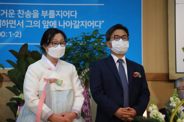 박보준 목사와 최명순 사모. 포항CBS