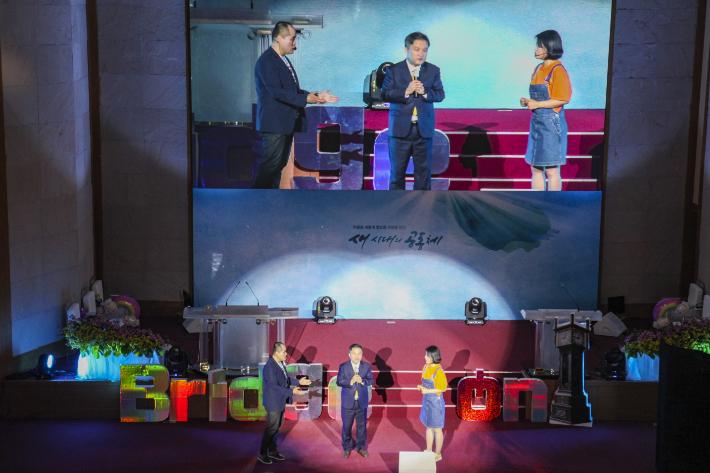 포항제일교회는 2일 어린이 주일을 맞아 공연예배 'Bridge-on, 너 때는 말이야!'를 개최했다. 포항CBS
