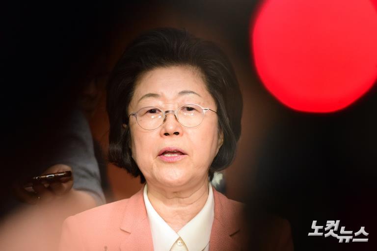 이은재 의원, 바른정당 탈당해 자유한국당 입당