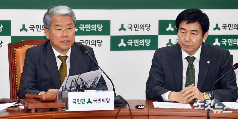 더불어민주당-국민의당 원내대책회의