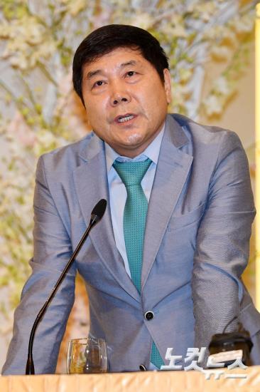 가수 김연자 매니저 홍상기 대표, 송대관 폭언 논란 관련 반박 기자회견