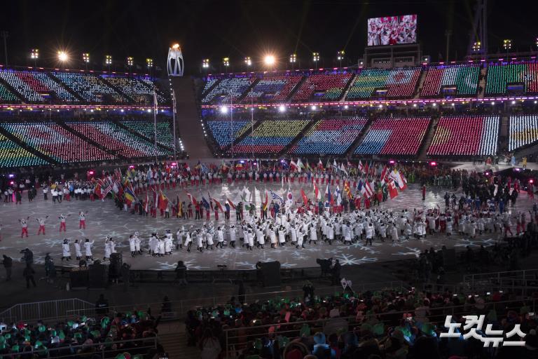 2018 평창동계올림픽 화려한 폐막