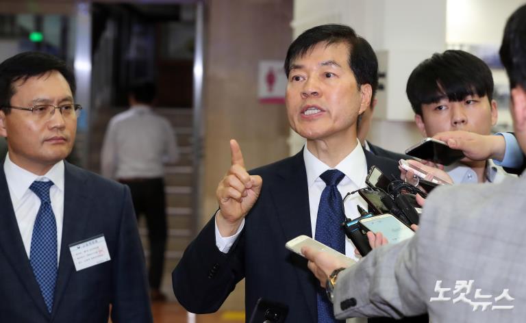 김태한 삼성바이오로직스 대표이사, 금융위원회 감리위 참석
