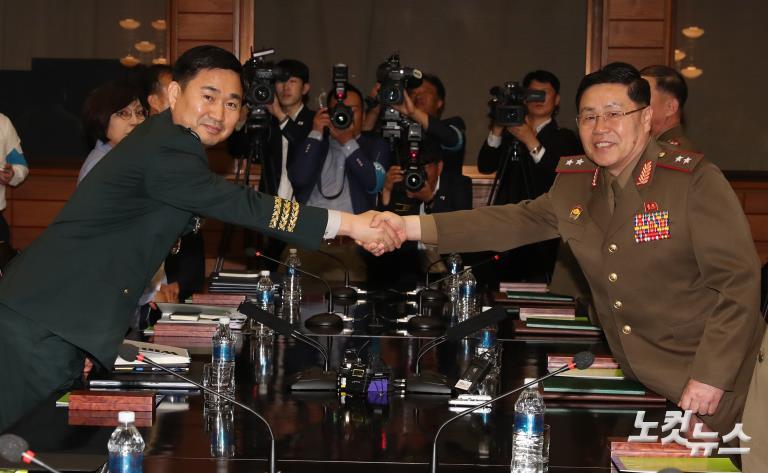 10년 만의 남북장성급 회담