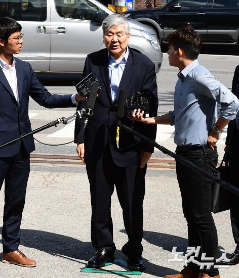 '회삿돈 자택경비 의혹' 조양호 회장 경찰소환