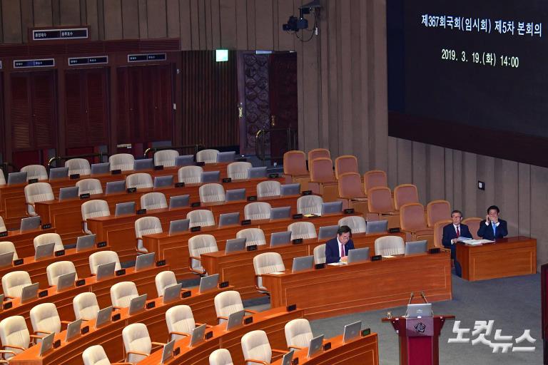 국회 본회의, 비교섭단체대표연설-정치분야대정부질문