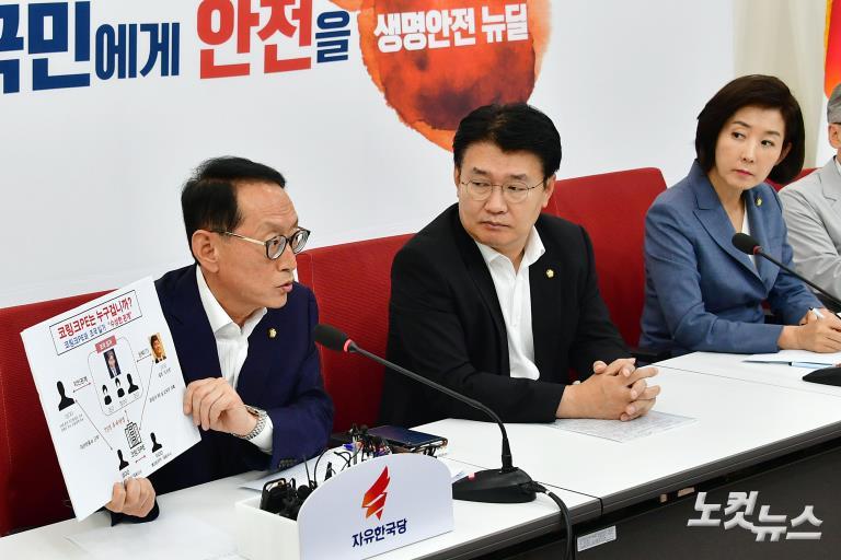 자유한국당, 조국 인사청문회 대책 TF 1차 회의