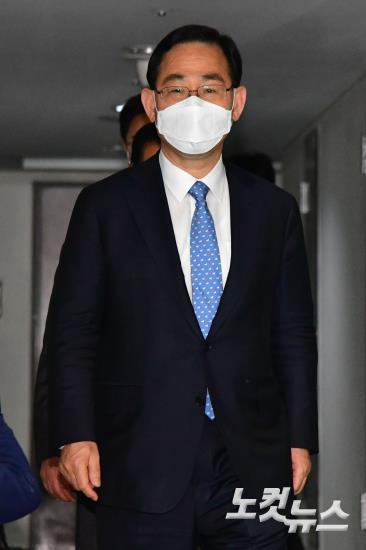 김종인 내정자 찾은 미래통합당 주호영 원내대표